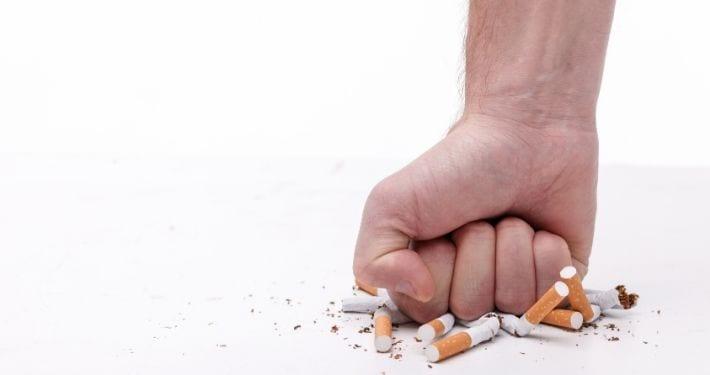 verpletter-sigaret